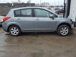 We are parting out our 2010 Nissan Versa