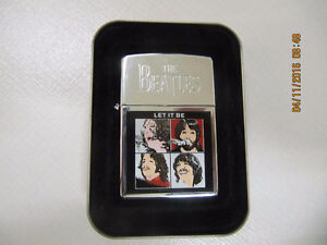 """Limited Edition """"Let It Be"""" Zippo Lighter NEW SEALED Circa 1996"""
