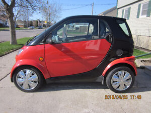 2005 Smart Fortwo black Coupe (2 door)