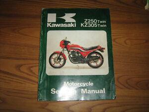 kawasaki manual shop ke kz zx zl