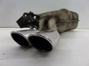 VW Beetle Turbo S Dual Tip Exhaust Muffler Chrome 00-03 OEM