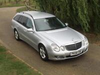 Mercedes-Benz E220 2.1CDI Avantgarde Automatic 2008/08 Silver 106000 FSH