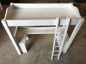 American Girl Bunk Bed with Desk