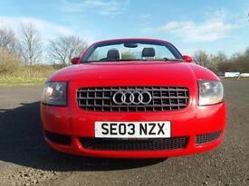 2003 Audi Tt Roadster 1.8