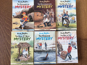 """Enid Blyton """"Mystery"""" collection, paperback, excellent condition"""