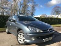 Peugeot 206 SW 1.4 2005 Verve ESTATE
