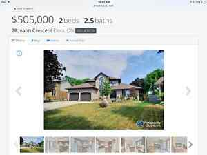 Beautiful Elora home for sale