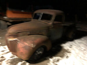 1946 Chevy truck project