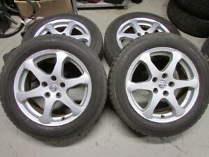 Nissan Rims with Winter Tires 215/60 R17