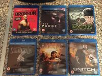 Blu-Ray movie bundle