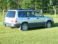 2002 Subaru Forester SUV, Crossover