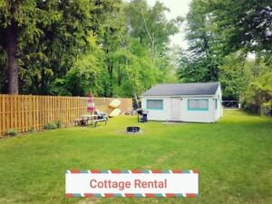 Ipperwash beach cottage near Grand Bend (availability in the ad)