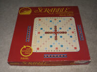 1982 Scrabble Deluxe Game with Turtable