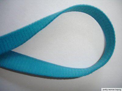 10m Gummiband 0,24€/m türkis Trägerband, 10mm breit  IF17
