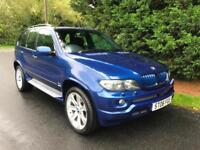 2006 BMW X5 3.0d LE MANS BLUE SPORT EDITION AUTOMATIC 4X4 TURBO DIESEL