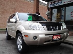 2006 Nissan X-trail AUTO,AIR ,AWD,NO ACCIDENT,SUNROOF$4499