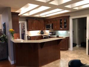 SOLID Cherry Wood Luxury Kitchen