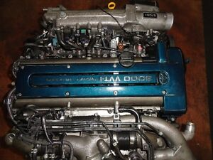 JDM TOYOTA 2JZ VVTI TWIN TURBO ENGINE, WIRING, ECU