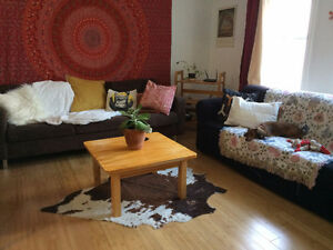 2 BR sublet (rent includes bills) from June to ''flexible''