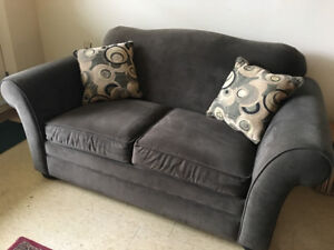 Loveseat Hideabed Twin Size Perfect for overnight Guests!