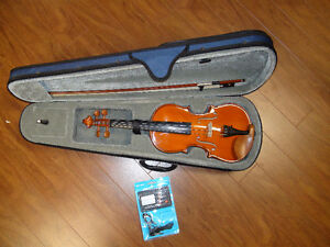 Student Violin Outfits - 1/2, 3/4, 4/4 New Condition Promo