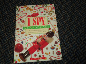 Scholastic Reader Level 1: I Spy A Candy Cane Paperback Kingston Kingston Area image 1