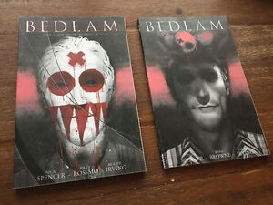 Bedlam Vol 1&2 - Nick Spencer & Ryan Browne TPB (New)