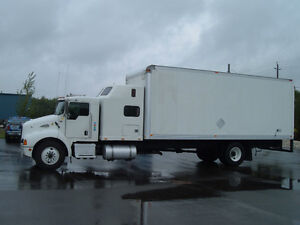 Kenworth truck with Sleeper