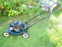 "Powerful Gas 5 HP 4-stroke(cycles) 20"" Craftsman Lawnmower,excel"