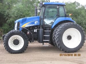 NEW HOLLAND T8030 TRACTOR
