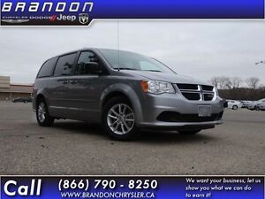 2013 Dodge Grand Caravan SXT Wagon- Cloth Seats,Uconnect,6.5in T