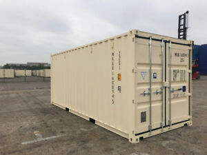 20' NEW One-Trip Seacans for Sale - Shipping/Storage Containers