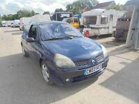 Renault Clio 1.2 16v Dynamique 3 DOOR - 2003 03-REG - 5 MONTH MOT