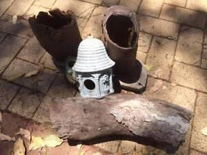 Bird Aviary Feeding / Nesting Boxes Lesmurdie Kalamunda Area Preview