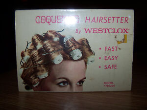 Hair rod curling kit