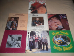 7 LPs by local artists - Celtic - fiddle - jazz - Cape Breton