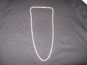 "Sterling silver necklace, 24"" London Ontario image 1"