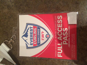 Everest curling challenge - 1 full access pass