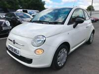***Fiat 500 1.2 POP 2009 in White***