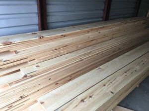 "6,8,10,12"" wide-plank flooring (red pine) delivery too!"
