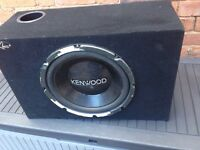 Kenwood subwoofers 600watts