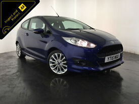 2015 FORD FIESTA ZETEC S 1 OWNER SERVICE HISTORY FINANCE PART EXCHANGE WELCOME