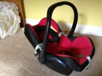 Maxi-Cosi Car Seat Suitable From Birth