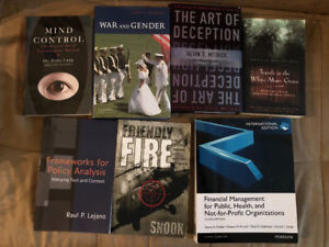 Assorted Books For Sale - Make Me An Offer!