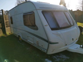 Abbey aventura 316 family caravan