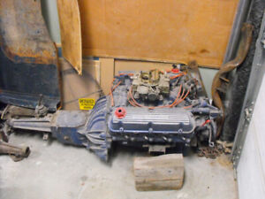 1967 Ford motor, 1971 Mach 1 Ford parts,