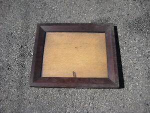 Antique Walnut picture frame - carved wooden back Cornwall Ontario image 3