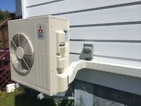 Mitsubishi Ductless Mini Split Heat Pumps