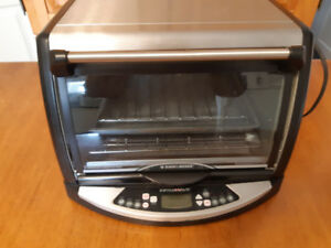 An Infrared Oven for sale. It's not a toaster oven.