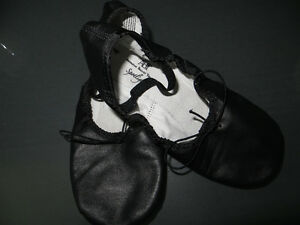 Black Ballet or Dance Shoes Size 4
